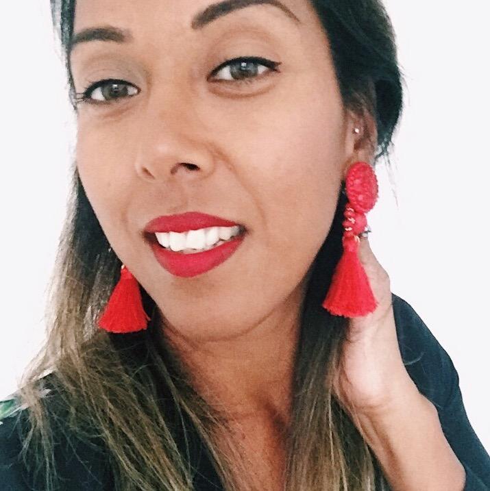 Fashion Blogger The FT Times Fatima Truscott wearing H&M Tassel Earrings