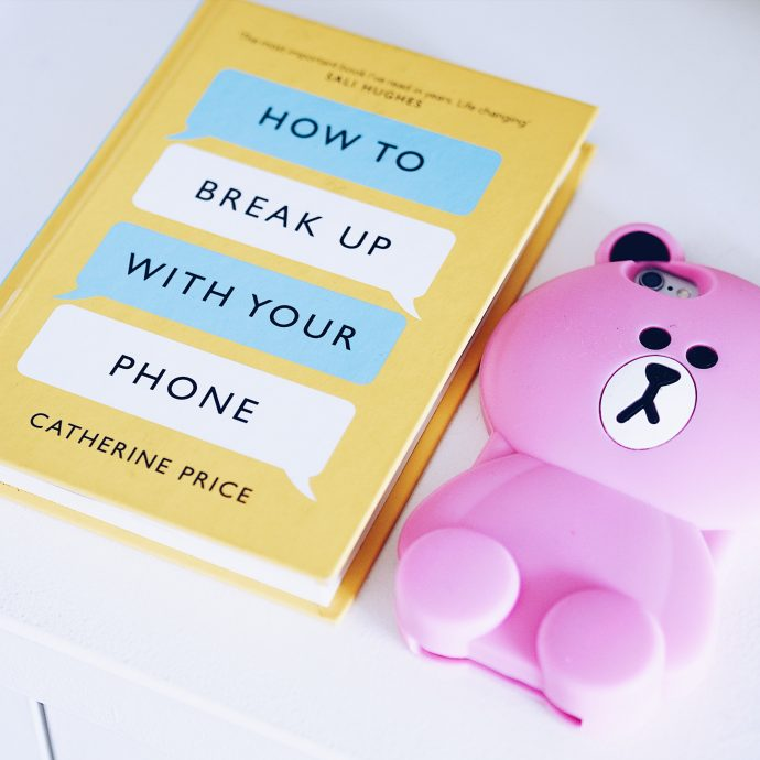 How-to-break-up-with-your-phone-and-pink-teddy-phone-case